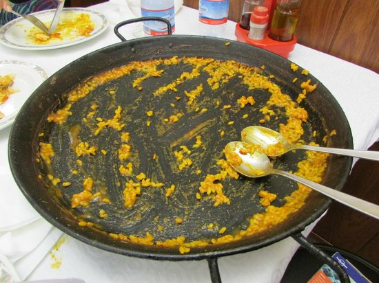 Xaica Restaurant: ex paella de marisco