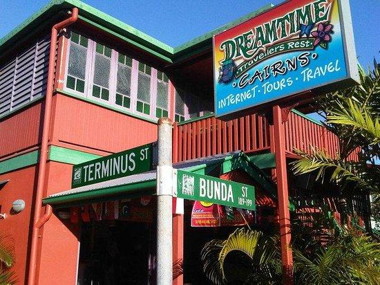 Dreamtime Travellers Rest : Front of Dreamtime Hostel