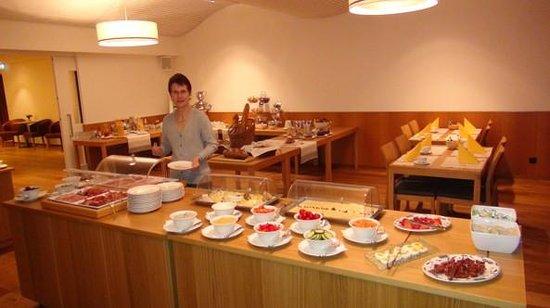 Hotel Schwärzler: Frühstück