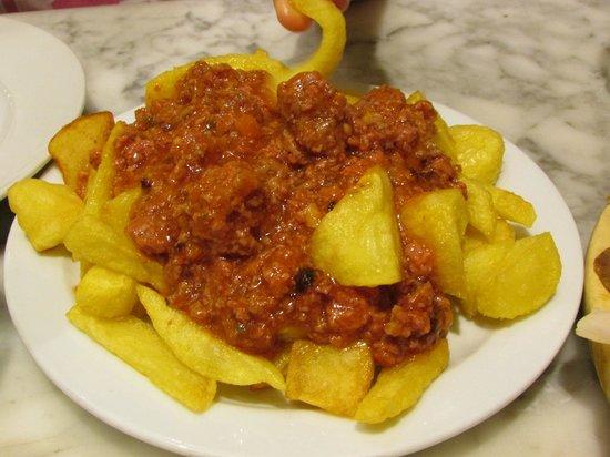 Elisabets: patate alla bolognese ( a Barcellona...)
