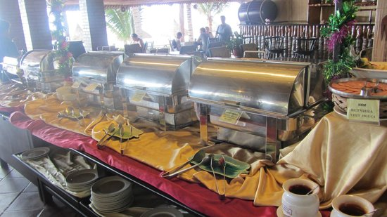 Bon Bien Resort: ресторан, завтрак