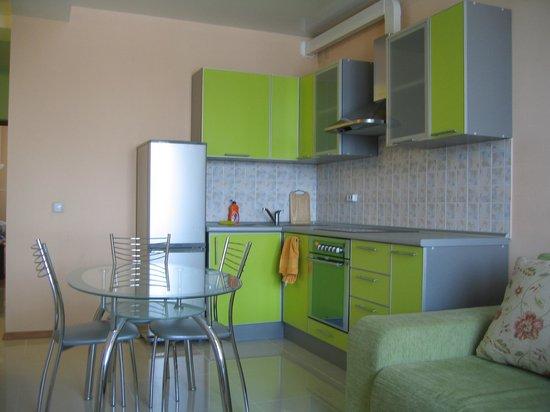 Irkutsk Hostel: кухня