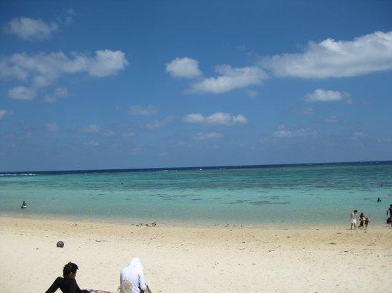 Aragusuku Beach: 透明度もバツグン