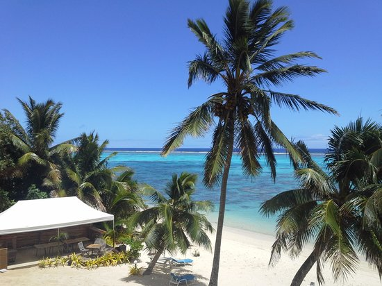 Moana Sands Beachfront Hotel & Villas: room with a view