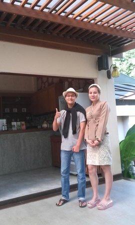 Rim Tara Boutique Resort: receptionist
