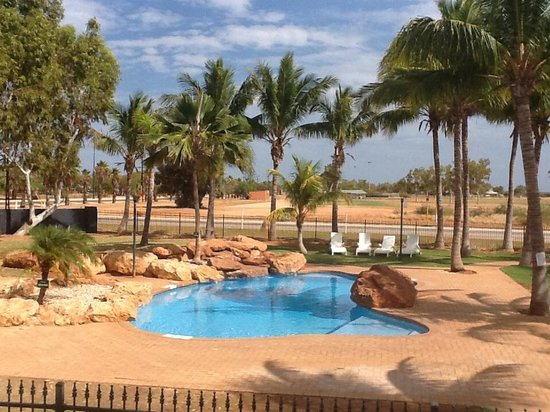 Exmouth Cape Holiday Park: View from chalet 7