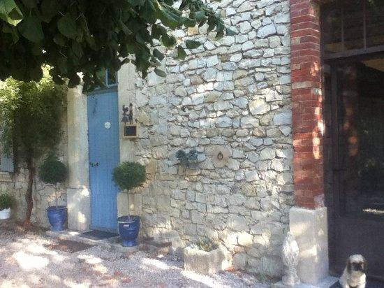 Les tilleuls d'Elisee : Reception door