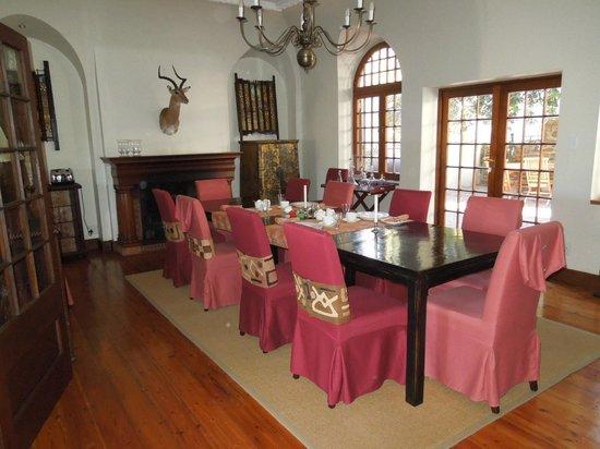 Rutland Lodge : Salle à manger.