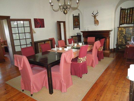 Rutland Lodge: Salle à manger.