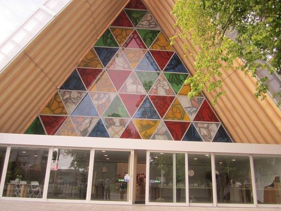 Vagabond Backpackers: Christchurch Transitional cathedral