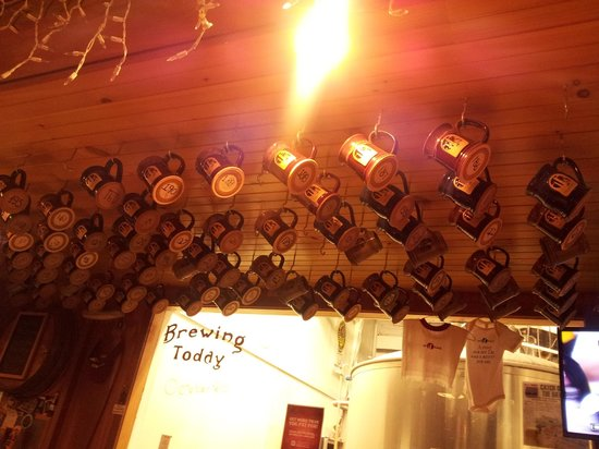 Cape Ann Brewing Company: fishermen's mugs
