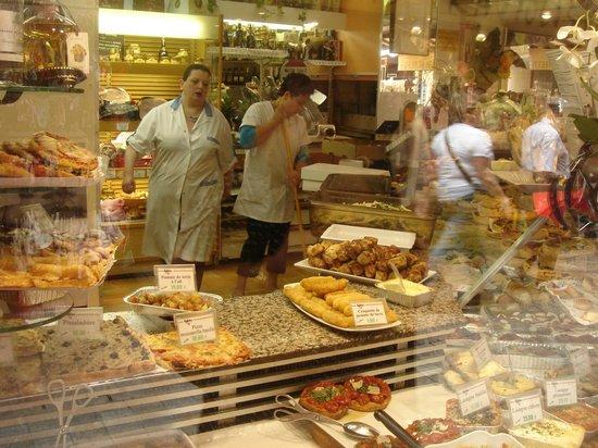 Rue d'Antibes: Interior pasteleria