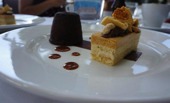 Soul Bar and Bistro: Chocolate Pudding