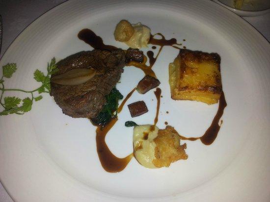 The Oak Room at Adare Manor: Beef