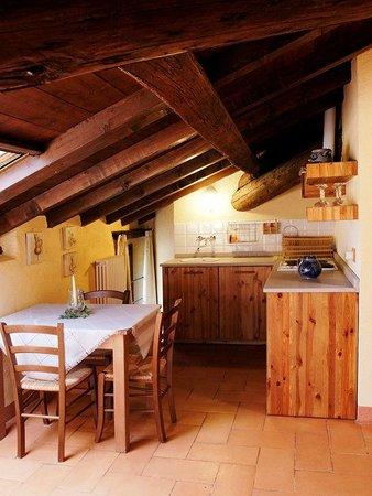 Cucina mansarda - Picture of Agriturismo La Costa, Perego - TripAdvisor