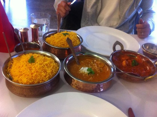 Indian Curry: Very delicious seafood curry