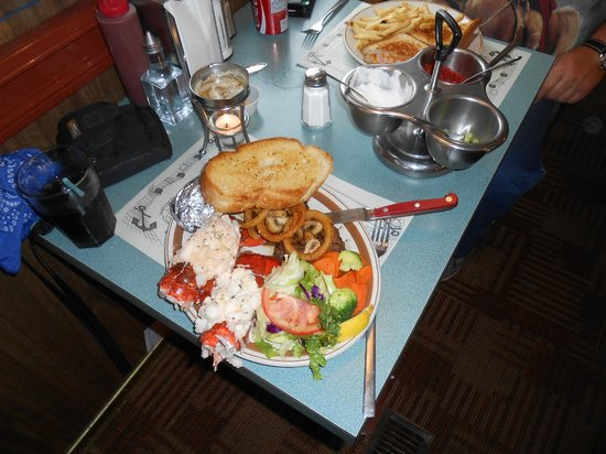 Smiles Seafood Cafe: le fameux Surf and Turf