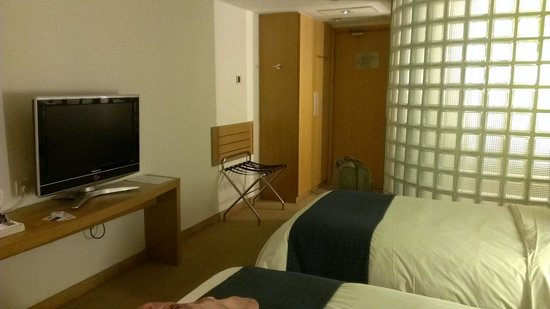 Holiday Inn Express Beijing Temple Of Heaven : Corner room