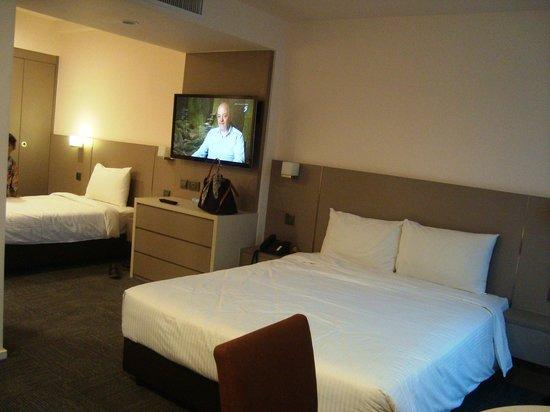โรงแรมเดอะสแตรนด์: sangat luas