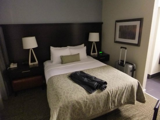 One Of The Two Bedrooms Picture Of Staybridge Suites San Francisco Airport
