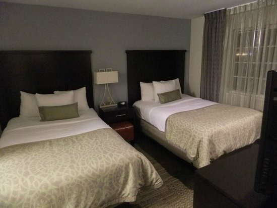 One Of The Two Bedrooms Picture Of Staybridge Suites San Adorable Two Bedroom Suite San Francisco