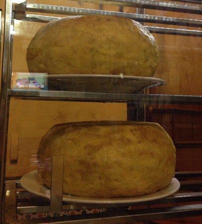 Tortillas made in Casa Santos