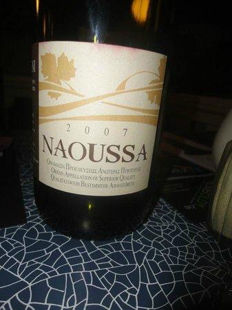 Le Creta: Naoussa excellent