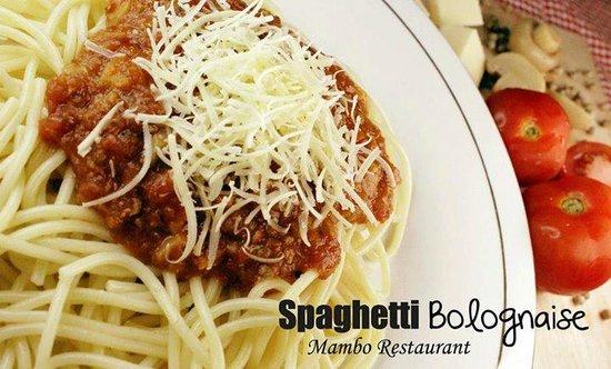 Mambo Restaurant: Spaghetti Bolognaise