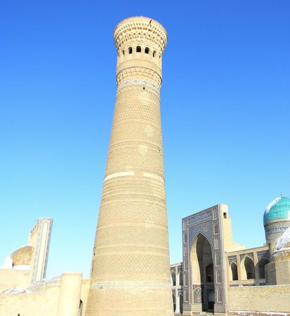 Great Minaret of the Kalon: Узбекистан, Бухара, минарет Калян