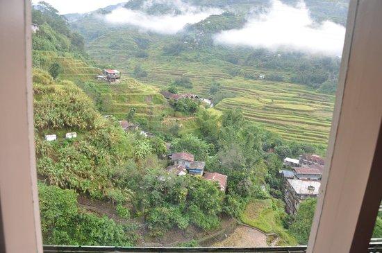 Banaue Homestay: From the room window