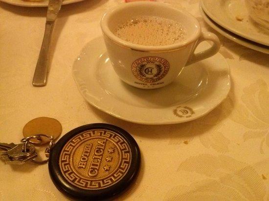 Cilicia Hotel : tazza con chiave