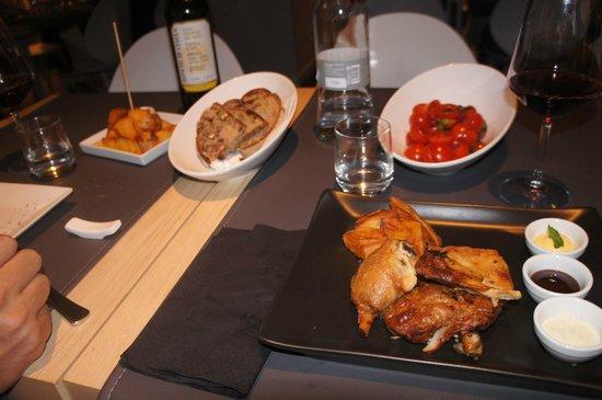 Agora' Restaurant & Bar: delicious chicken