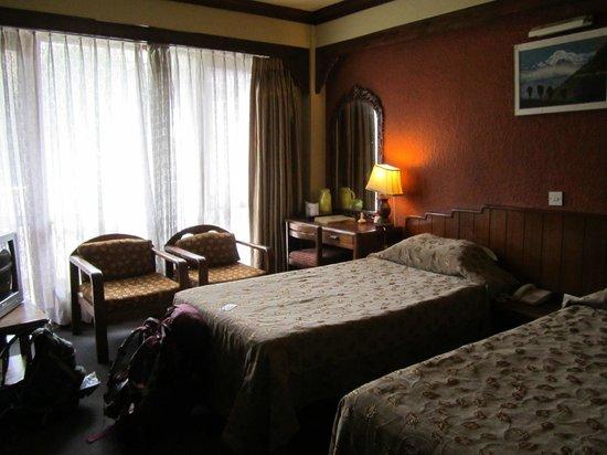 Nirvana Garden Hotel: Twin room