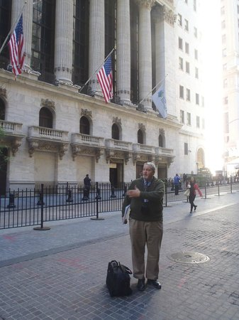 The Wall Street Experience - Wall Street Tours : Jared