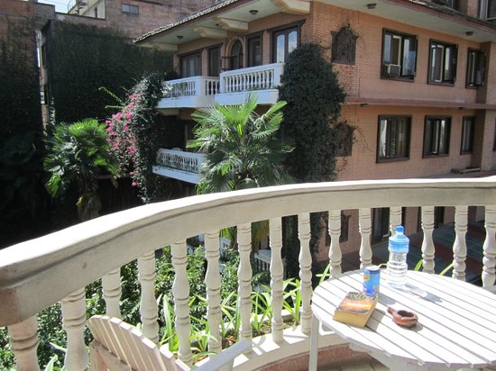 Nirvana Garden Hotel: My little balcony