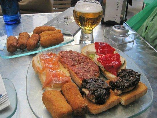 Restaurante Lateral Fuencarral: Tapas
