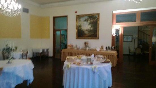 Hotel Cappelli: Ресторан, завтрак