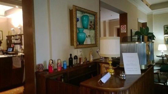 Hotel Cappelli : Бар в отеле