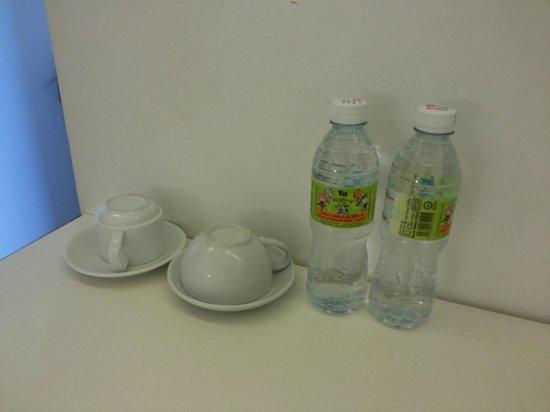 V Garden Hotel: 2 bottles mineral waters everyday