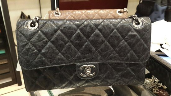 Chanel : Bought this black cc crave
