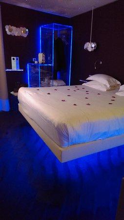 Seven Hotel Paris: notre chambre no 505