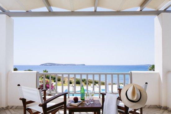 Poseidon of Paros : Sea view from the room