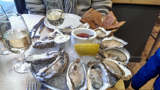 Galette Café: huîtres pour commencer - extra