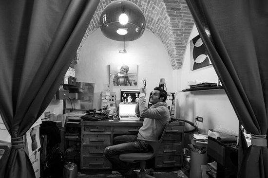 Ozona Occhiali: Sandro Gonnella at work
