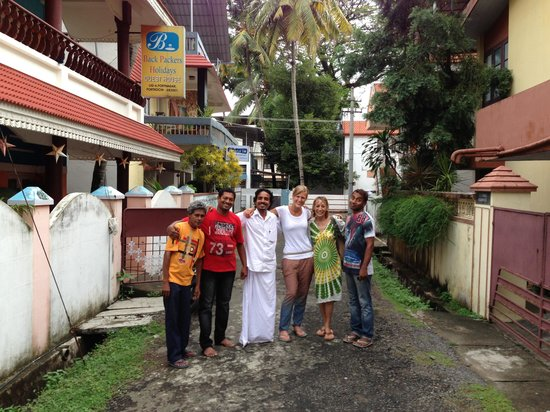 Backpacker Holidays Guest House Kochin: Thanks for the great stay!!!