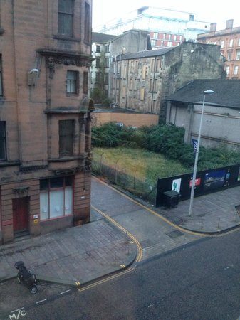 Radisson Blu Hotel, Glasgow: view