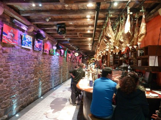 La Mandarra de la Ramos: le palais du jambon