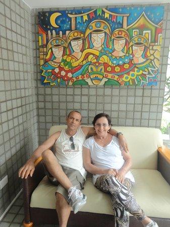 Hotel Saveiro: Linda recepção!