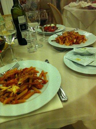 Hotel dei Pini : ужин