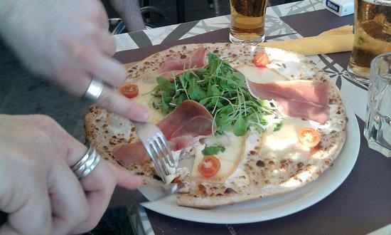 The Central Pub : sottospecie di pizza